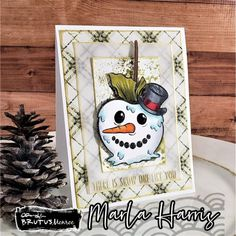 Brutus Monroe STAMPtember® 2021 Exclusive Collaboration! - Simon Says Stamp Blog Simon Says Stamp Blog, Snowman Cards, Card Making Inspiration, Collaboration, Xmas, Seasons, Disney Characters, Art, Kunst
