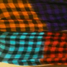 Multi color checkered scarf Multi color checkered scarf Accessories Scarves & Wraps