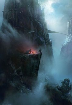 And he camped there along the pathway to the cities in the sky. . . EDK