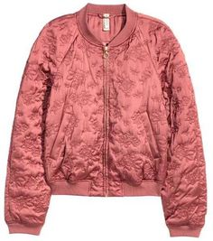 Quilted Bomber Jacket by H&M on ShopStyle.