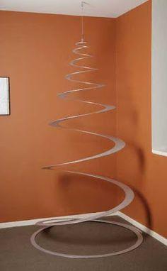 Ideas Creativas y Practicas: Arbol de Navidad en Espiral