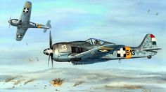 Focke Wulf - Hungría, pin by Paolo Marzioli Military Paint, Military Jets, Military Aircraft, Ww2 Aircraft, Fighter Aircraft, Fighter Jets, Luftwaffe, Focke Wulf 190, Airplane Photography