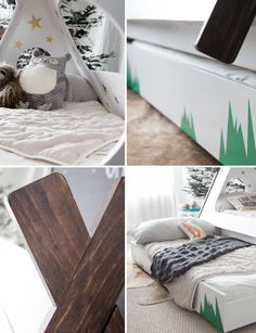 This DIY toddler teepee bed from @hellobowsers will leave your child with nothing but sweet dreams. The DIY project even includes a pull out trundle bed for extra sleeping space. Before you begin painting your DIY masterpiece, make sure you use KILZ Primer to ensure maximum durability and protection from everyday use.