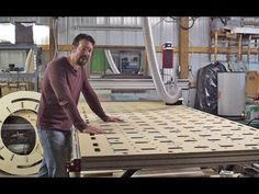 Building a 5'x10' CNC Router from CNC Router Parts - YouTube