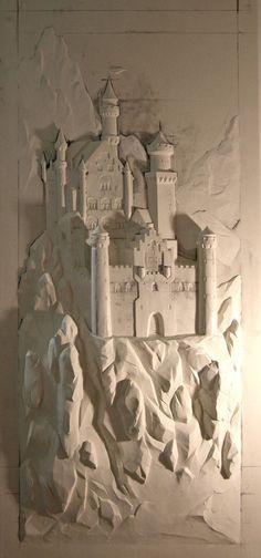 Wood Sculpture, Wall Sculptures, Mural Art, Wall Murals, Plaster Art, Wall Design, Wood Art, Art Decor, Artwork