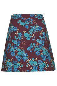 Floral Tapestry Skirt Topshop