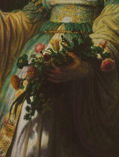 Saskia as Flora (1635). Rembrandt