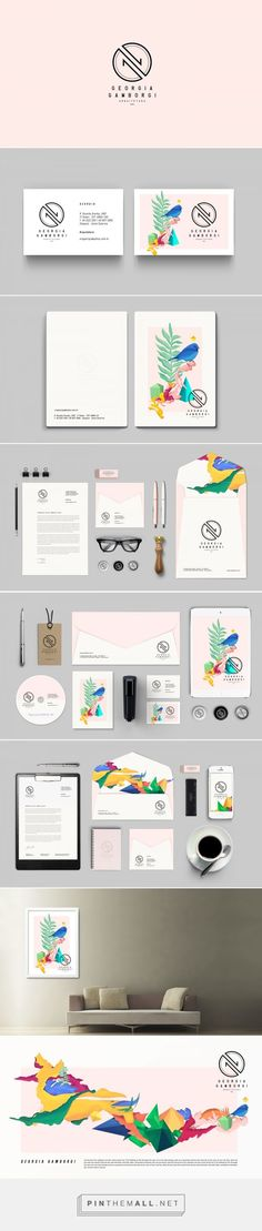 Georgia Gamborgi - Arquitetura on Behance   Fivestar Branding – Design and Branding Agency & Inspiration Gallery #FredericClad