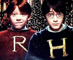 Rony Weasley. Harry Potter.