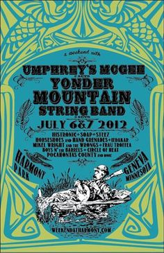 Weekend at Harmony - Umphrey's McGee & Yonder Mountain String Band