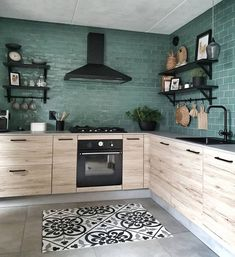Kitchen interior design – Home Decor Interior Designs Loft Kitchen, Apartment Kitchen, Home Decor Kitchen, Interior Design Kitchen, Home Kitchens, Kitchen Tiles, Küchen Design, House Design, Yanko Design