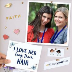 """I thought I was going to be such a """"great hair"""" mom. My girls would look so pretty. My daughter had other plans, her plans. She taught me! I'm excited to be working with Dove to encourage mothers to share a #LoveYourHair selfie to pass along hair confidence to their daughters. Join @Dove's mission and inspire a young girl in your life to love her hair. Create and share your own custom animated message! #LoveYourHair #DovePartner"""