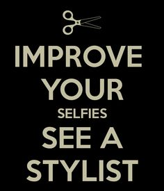 Improve your selfies at  The Hair Loft Salon and Spa