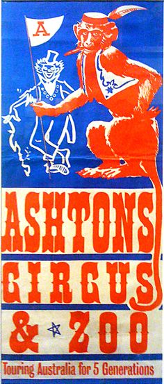 Very old Ashtons Circus poster.  PIPANDCO_CIRCUS_POSTERS_0956