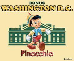 Washington DC Pinocchio