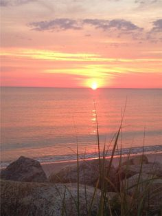 Beautiful sunsets to enjoy whlie sitting on porch Falmouth, Cape Cod