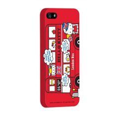 Capa de iPhone 5 Hello Kitty - London Bus 2