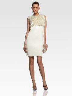 If I were to make a wardrobe change, it would be for this dress... it's amazing! Marc Jacobs sequin fringed dress