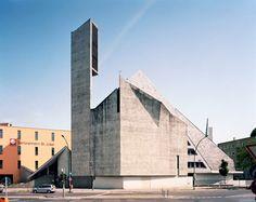Fehling+Gogel. St.-Norbert-Kirche, 1962, Dominicusstraße 15–19, 10827 Berlin-Schöneberg