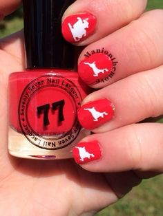 Santa Claus Is Coming To Town using Apple pie by Seventy Seven Lacquer & Toadarrific Vinyls