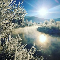 Winter sunrise in Steamboat Springs, CO. Photo taken by Charlie Dresen. steamboatsmyhome.com