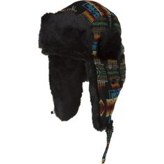 Jacquard Tracer Lined Bomber Hat