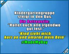 Manchmal reicht eine kleine Umarmung :) #Kinderliebe #GuteLaune