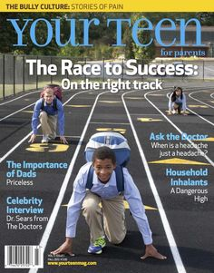 The Race To Success - Want to read? To subscribe, go to www.yourteenmag.com/subscribe. #yourteen