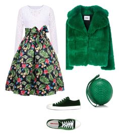 """""""chics"""" by mchlap on Polyvore featuring MSGM, Gelareh Mizrahi and Prada Sport"""