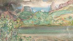 adriaan Herman Gouwe, Baai in Tahiti