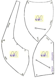 bh patronen0002a.gif 549×774 pixels Sewing Bras, Sewing Lingerie, Sewing Clothes, Diy Clothes, Sewing Lessons, Sewing Hacks, Sewing Projects, Underwear Pattern, Lingerie Patterns