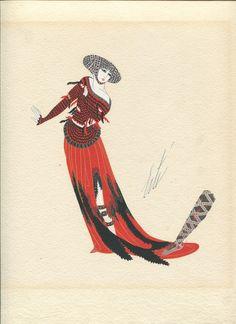 Robe des Legendes    by Romain de Tirtoff, who called himself Erté