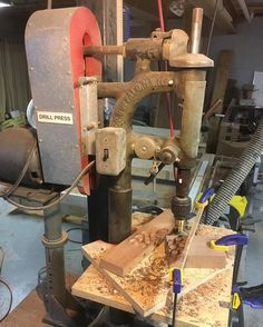 So much I want to say about this picture.  Late night cutting plugs out of cherry walnut and spalted maple. The spalted maple looks amazing but I happen to think that working with it stinks - literally. The cherry and the walnut tho?  Oh man that stuff is heaven! Most of the time in life I find myself solely focused on the final results and only find joy in the pride I take in a job well done. Tonight was a reminder to me that so much more about the entire process is pleasurable if you just…