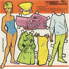 Brigitte Bardot Paper Doll