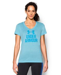 Under Armour Women's Tech V-Neck - Twist Logo *** This is an Amazon Affiliate link. Read more reviews of the product by visiting the link on the image.