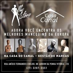 Em mais uma parceria de sucesso, a My Store Brasil começa a distribuir seus produtos em Vitória/ES na Casa do Canal - Rua Anísio Fernandes Coelho, 88 Jardim da Penha.