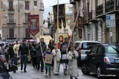 Not sure what it was about but an interesting religious procession down the streets of Palermo   TravelGumbo