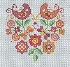 folk 2 by Lucie Heaton Cross Stitch Designs, via Flickr