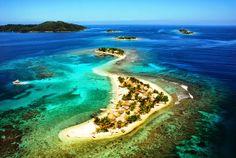 Honduras, cayos cochinos (Cochinos Island)