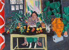 Henri Matisse (1869-1954) - Interior with Etruscan Vase, 1940