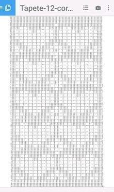 Diy Crafts - Diy Crafts - -Crochet Scarf Chart Table Runners 68 New Ideas crochet Crochet Diagram, Crochet Motif, Crochet Doilies, Diy Crafts Crochet, Crochet Home, Crochet Ideas, Crochet Stitches Patterns, Doily Patterns, Crochet Carpet