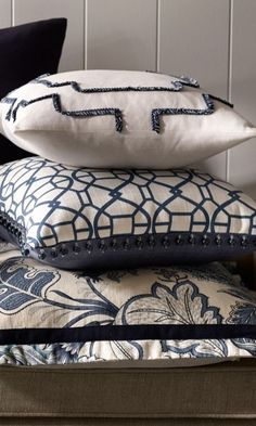 Our smartly flanged floral pillow serves as a stylish designer pillow option to stage anywhere in your living space.