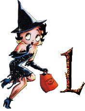 betty boop animated | Betty boop halloween alphabets
