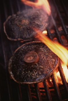 Grilled Portobello Mushrooms - Recipe for Portobello Mushrooms Recipe on the Grill