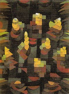 Paul Klee Most Famous Paintings | Paul Klee - Growth 1921