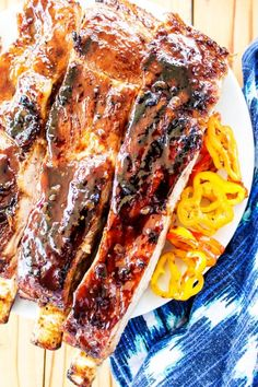 This is a sponsored post written by me on behalf of Smithfield. Time to fire up the grill friends with these mouthwatering KOREAN BARBECUE RIBS. Packed with flavor, they are the perfect combination of sweet, savory and spicy. TheseSmithfieldExtra TenderFresh Pork Spare Ribsare perfectly cooked and then caramelized after they hit the grill. Let me …