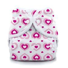 Thirsties Duo Wrap Snap Cloth Diaper Cover in SWEETHEART
