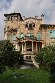 villa liberty savona by Voltaire96, via Flickr