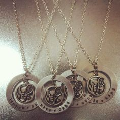 The Love Tennis Necklace Perfect Gift For The by stampedandstrung, $25.00