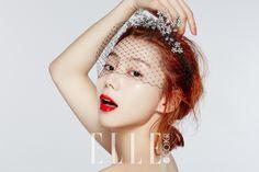 Park Soo Jin in Elle Korea